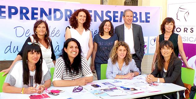 L'ensemble des partenaires des rencontres de l'alternance : Mairie de Bastia, CCI de Haute-Corse, Adec et Pôle Emploi