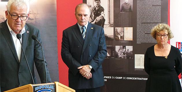 Biguglia : Mauthausen la part visible des camps…