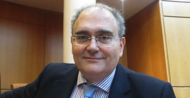 Paul Giacobbi, président du Conseil Exécutif de l'Assemblée de Corse et député de Haute-Corse.
