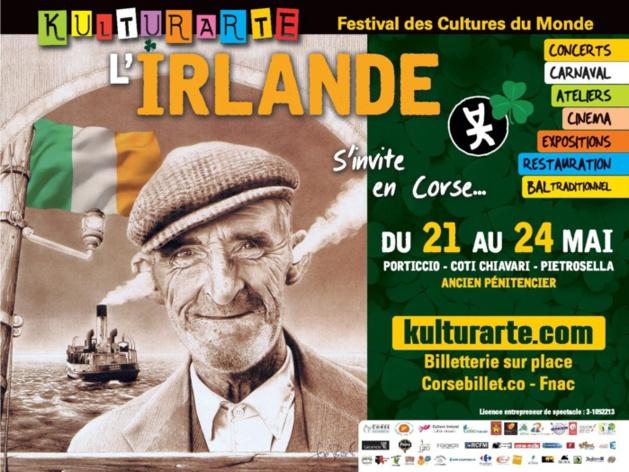 L'Irlande arrive en Corse mercredi !