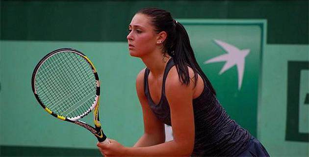 Clothilde de Bernardi passe le premier tour des qualifications à Roland Garros