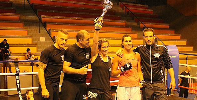 Maria Casanova,  championne !