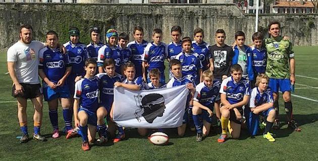 Rugby : La belle tournée en Euskadi des U14 de Avvene XV