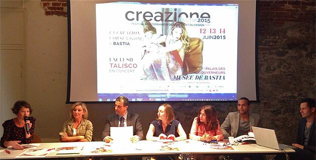 La manifestation a été présentée par Vanina Bernard Leoni, Linda Piperi, François Tatti, Françoise Vesperini et Véronique Calendini notamment