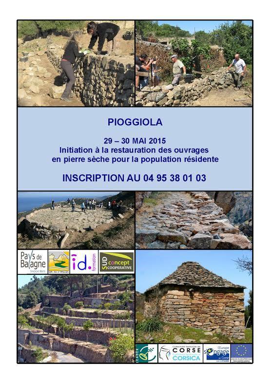 Pioggiola : Atelier d'initiation autour de la pierre sèche