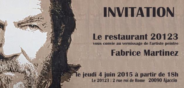 Fabrice Martinez expose au 201é3 à partir du 4 juin
