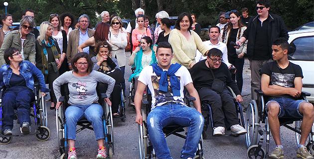 Bastia : Un parcours en fauteuil avec l'association des paralysés de France