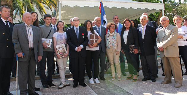 Ajaccio : Remise des prix du concours national de la Résistance