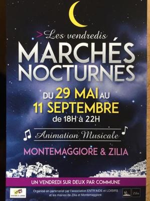 Un marché nocturne à  Montegrosso
