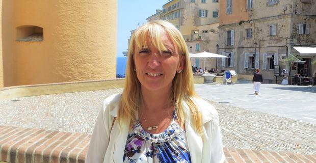 Emmanuelle de Gentili, conseillère exécutive de l'Assemblée de Corse, 1ère adjointe au maire de Bastia, 1ère secrétaire de la fédération socialiste de Haute-Corse et membre du bureau national du PS.