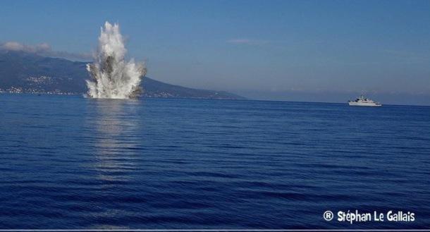 La dernière opération de déminage s'était déroulée en Novembre 2011 avec l'explosion de deux torpilles