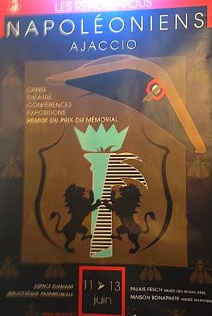 Les Rendez-Vous Napoléoniens 11-13 juin : Le patrimoine ajaccien dans toute sa culture