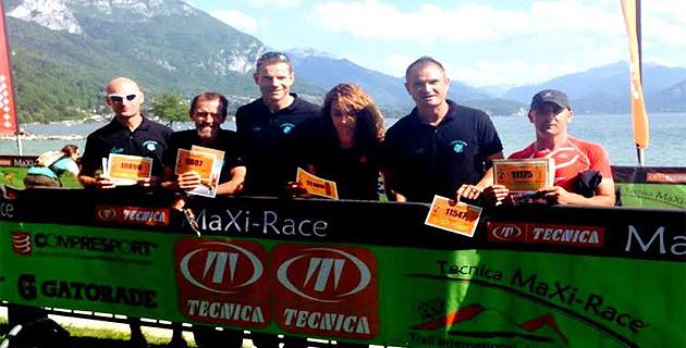 « E Muvre Balanine »  ont côtoyé l'élite mondiale du Trail lors de La Technica Maxi Race 2015