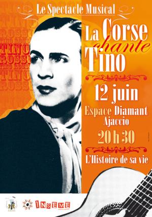 Le Spectacle musical « La Corse chante Tino » au profit d'Inseme
