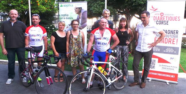 Le tour de Corse à vélo de Michel Rostin-Magnin diabétique et sportif