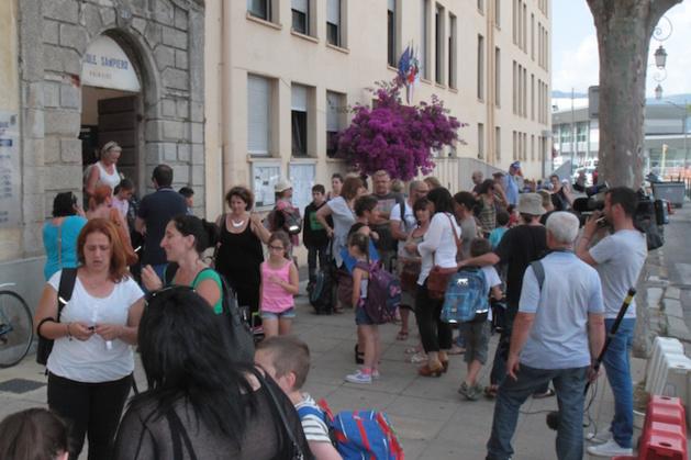 Ajaccio : Mobilisation contre les nouveaux horaires scolaires pour la rentrée 2015