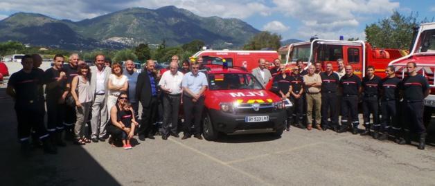 En Juillet 2014 la caserne de Cervioni avait été dotée d'un VLM (véhicule léger médicalisé)