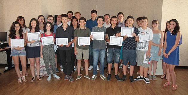 Rectorat de Corse : Remise des prix des Olympiades de mathématiques