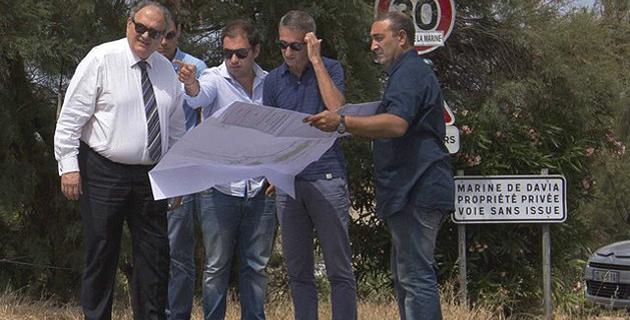 Le projet d'aménagements routiers sur la RT 30 présenté à Corbara