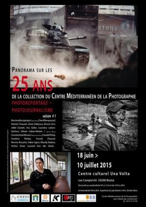 Bastia : Panorama sur les 25 ans de la collection du centre méditerranéen de la photographie