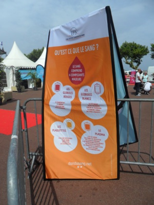 Bastia célèbre la journée mondiale des donneurs de sang
