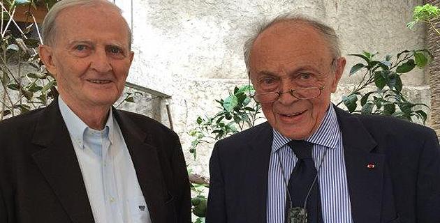 Edmond Simeoni et la venue de Michel Rocard en Corse
