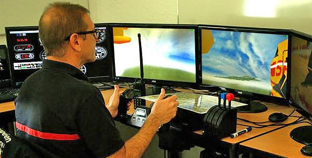 Corte : Un simulateur de feu de forêt pour les sapeurs-pompiers de Haute-Corse
