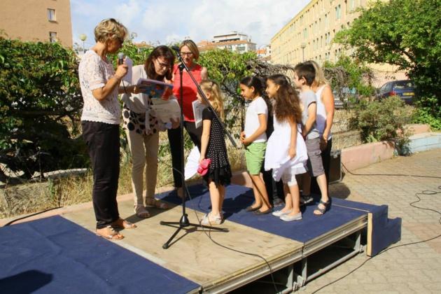 Ajaccio : Cérémonie de fin d'année pour les Coups de Pouce