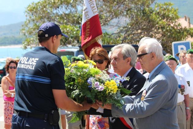 Appel  du 18-juin : Calvi a rendu hommage au Général de Gaulle