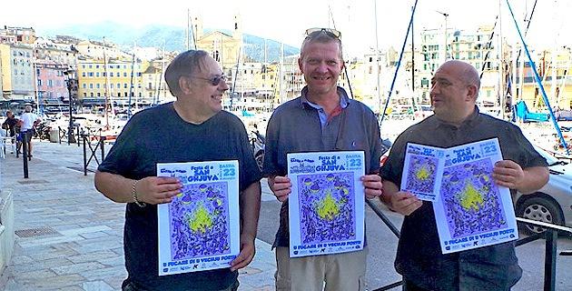 Alain Thierry, Christophe Trancart et Anthony Esposito