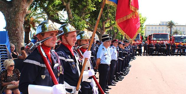 Journée nationale des sapeurs-pompiers : L'hommage de Bastia