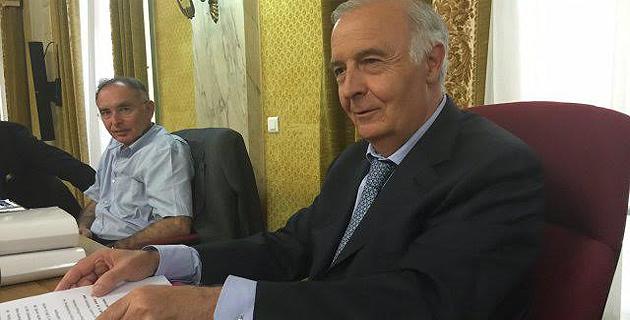 Pierre-Jean Luciani, président du Conseil départemental