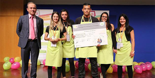 L'équipe de I Frutti Freschi distinguée à Paris (EPA)