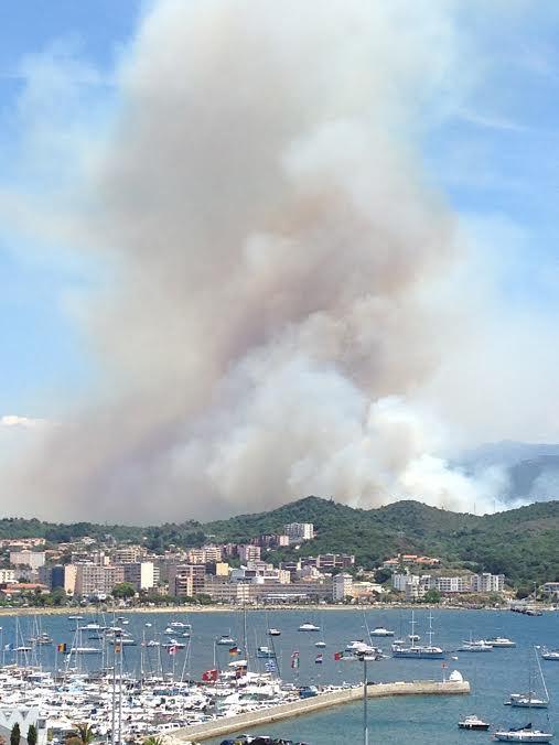 Ajaccio : Un incendie aux abords de la centrale du Vazzio. Une trentaine de personnes évacuées