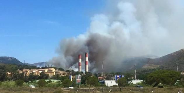 Ajaccio : L'incendie du Vazzio maitrisé. Une cinquantaine d'hectares détruits
