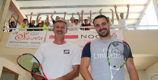 C'est parti pour le 19e Open International de Squash de L'Ile-Rousse