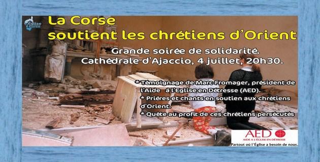 Conférence de Marc Fromager sur la situation des chrétiens d'Orient