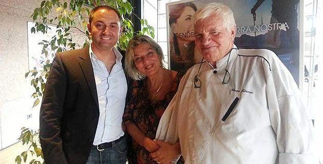 Pascal Leonetti, Caroline Quastana et Vincent Tabarani