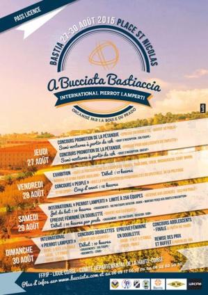 """""""A bucciata bastiaccia""""-Grand prix Pierrot-Lamperti : La place Saint Nicolas, immense boulodrome"""