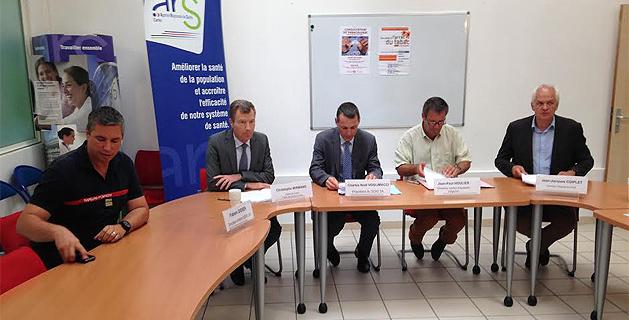 Convention cadre entre SAMU et SDIS2A : Pour rendre plus performante l'aide médicale urgente