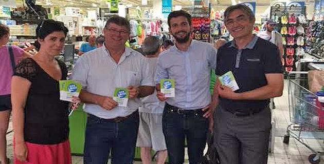"""Géant Casino et Supermarchés Casino de Corse : Plus de 22 000 € récoltés au profit d'INSEME grâce à """"l'Arrondi"""""""