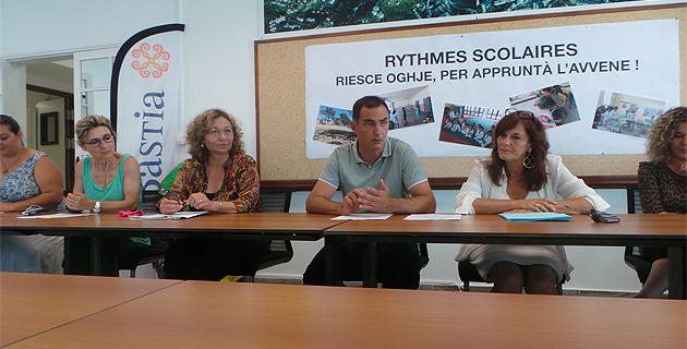Aménagement des rythmes scolaires : A Bastia, ça fonctionne…