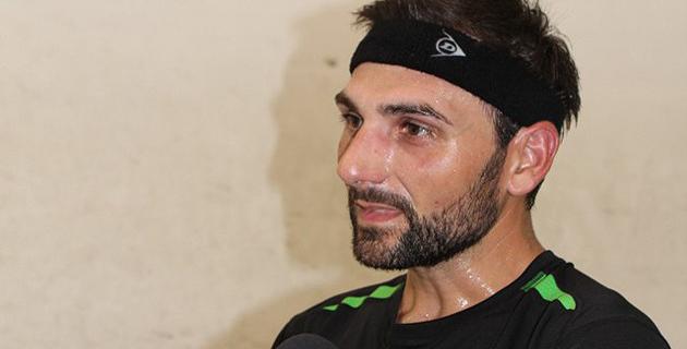 L'Ajaccien Fabrice Mattei vainqueur de l'Open international de Squash de L'Ile-Rousse
