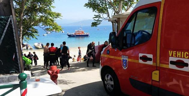 Doigt sectionné à bord d'un voilier : La SNSM de Propriano évacue une passagère