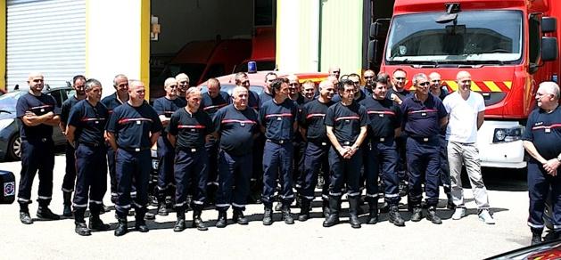 La société Filippi Auto engagée dans la campagne « feux de forêts » au côté du Sdis 2B