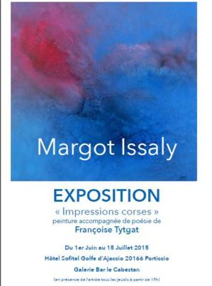 Margot Issaly et Françoise Tytgat : deux sensibilités, deux arts, mais un amour commun, la Corse au Sofitel rive sud