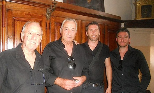 Jean-Toussaint Paolacci (au centre)