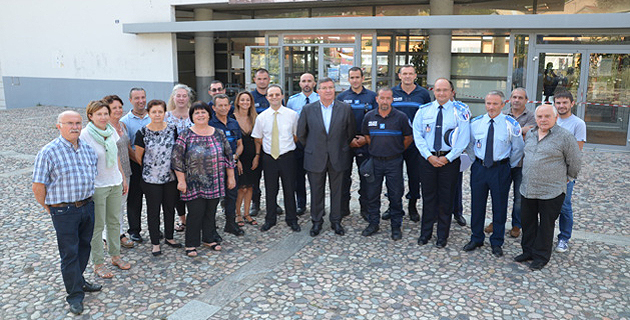 CNFPT: Cérémonie de fin de formation initiale  des policiers municipaux à Corte