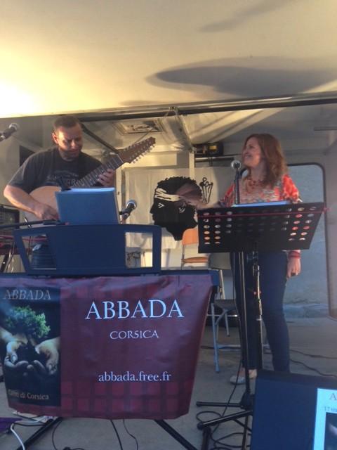 Le groupe Abbada à Monticellu
