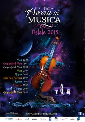 Sorru in Musica Estate 2015, un festival pour tous dès le 20 juillet